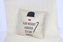 Linen fashion and hot cushion 3d print family cushions
