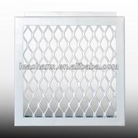 High quality water proof airport decorative Aluminum Grid Ceiling, acoustic sports center ceiling,false ceiling tile