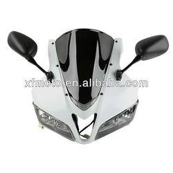 For Honda CBR600RR 07-10 F5 motorcycle Headlight,upper fairing,mirror,Windscreen