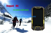 Ip67 MTK6577 Dual Core M6 Outdoor Dustproof Shockproof Waterproof Phone Dual Sim GPS 3G
