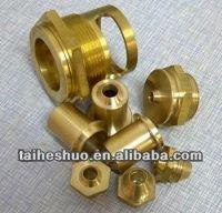 custom titanium/stainless steel/brass cnc turning service