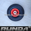 small rubber wheel with plastic rim for hand truck