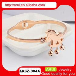 2014 New horse golden jewelry fashion wholesale jewelry bracelet