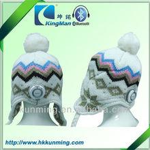 Korea Version Fashion Womens Beanie Knit Crochet Beanie POM-POM Ski Hat Cap