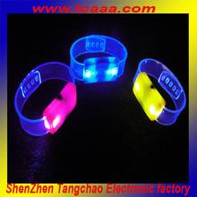led flashing reflective belt with lights