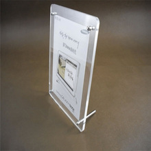 Double Acrylic photo frame for families