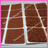 Brown australia Velcro Sticky dots on Pads shapes velcro adhesive 3m taxi meter use