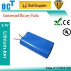 electric bike light battery 3.7V 5200MAH