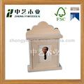 Super qualidade de madeira pendurado na parede suporte chave, titular da chave de caixa de madeira