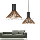 Hot Sell New Replica Modern Wooden Puncto Sandal Wood Pendant Lighting