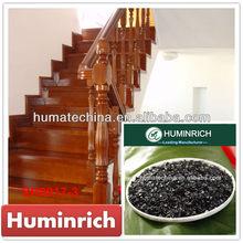 Huminrich Shenyang Sodium Humate Shiny Flakes Organic Walnut Wood Floor Paint