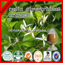 Pure Natural Radix Glycyrrhiza Extract Powder /Licorice Root Extract /Glycyrrhizinic Acid 20%-30%
