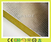 Insulation fiber glass wool board with aluminum foil backed