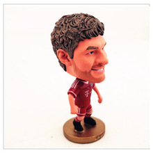 Custom pvc football player toy figure from alibaba