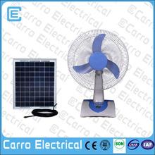 low power 12V 12inch plastic dc table fan dc motor table fan power consumption