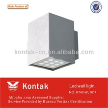18W 1620lm led wal llight for garden house/IP65 led wall lamp