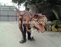 Para caminar con traje de dinosaurio para mostrar dinosaurio traje de la mascota
