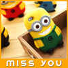 High quality minion case for samsung galaxy s3 mini iphone5