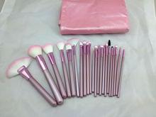 facial tool cute pink 22pcs cosmetic make up brush set