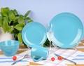زرقاء بلون مائدة عشاء الصين