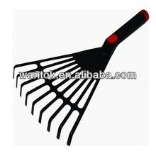 plastic garden leaf rake-9T