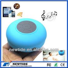 portable suction cup waterproof bluetooth speaker phone