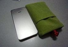 velvet mobile bag,phone bag