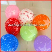Silk screen logo printed balloons/customized logo acceptable