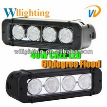 offroad led light bar 40w cree cambo/flood/spot beam