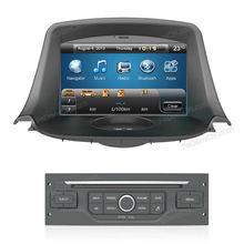 2 din car dvd player gps navigation for Peugeot 206