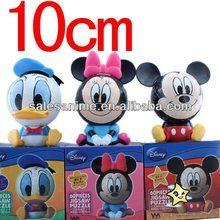 Wholesale for sale,PVC figure,Mickey Mouse Minnie Donald Duck Puzzle Figure 3pcs