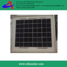 hot sale 5w solar panel , beat price mini 5w poly panel solar