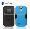 Big factory sale excellent cell phone cover/Grace design sky blue armor holster case for samsung s4 i9500