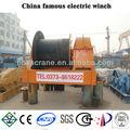 electric guincho aberto usado para pesados equipamentos de elevação