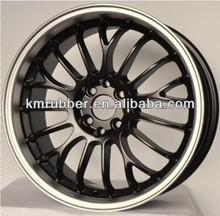17x7.5 Inches Black Car Aluminum Wheel