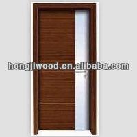 Solid oak wood ledge cottage door HJ-P067