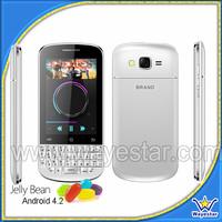 Cheap 3G Qwerty keypad mtk6572 mobile phone