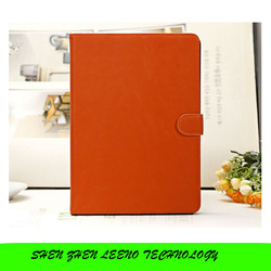 Colorful Cell Phone Case Leater+Carbon Fiber Casing Cover for iPad Air 5