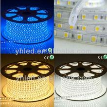 CE rohs hot sale waterproof outdoor 110 volt led strip light decorative led adorn light
