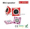 OEM Factory portable folding speakers/paper plate paper/foldable travel speaker