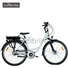 MOTORLIFE EN15194 Best selling 36v 250w 28 inch front wheel motor electric bike