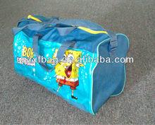 kids cartoon promotion duffle travel Bag