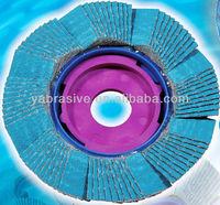 Premium zirconia alumina abrasive super flap disc