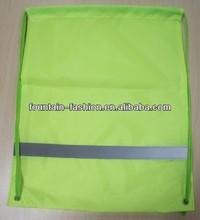 Reusable Promotional reflective Drawstring Bag