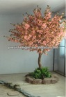 THS-11 SJ 7ft pink color artificial cherry wedding flowers tree for indoor decoration