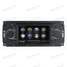 """Multimedia for Chrysler 300C 5"""" touch screen car DVD Player GPS Navigation system with Bluetooth iPod USB Control"""