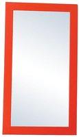 Modern MDF framed orange salon wall mirrors on sale