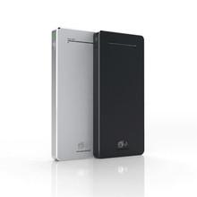 batterie portable mini size power bank in sliver black gold color