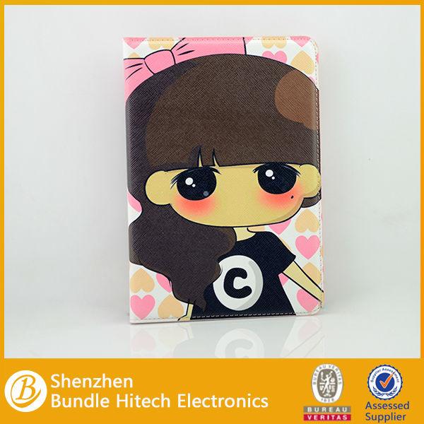 For ipad mini 2 case manufacturer,cartoon leather case for ipad mini 2