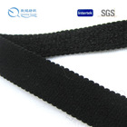 2014 fashion trimming high quality garment webbing one side suede tape